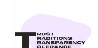 """Өзін-өзі тану мазмұнындағы төрт """"Т"""" (траст, традишн, транспаренси, толеранс) ұғымдары."""